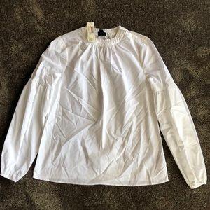 Worthington white blouse
